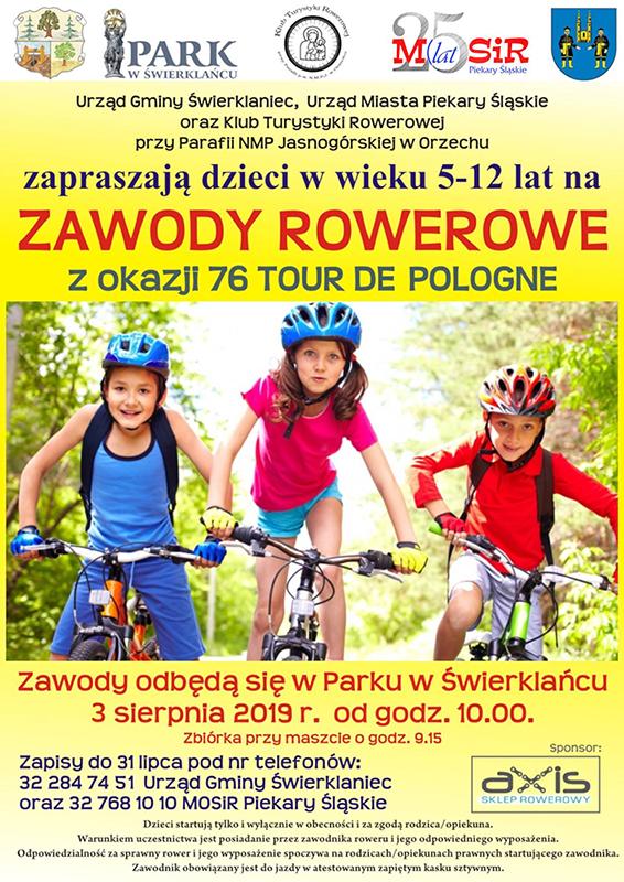 plakat zawody dla dzieci